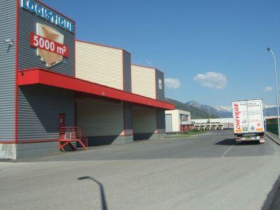Nouveau bâtiment Logistique ouvert en 2002