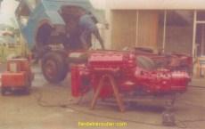 Réparation chez Jean Gullmann, un inconditionnel de Saviem et fou de V8!