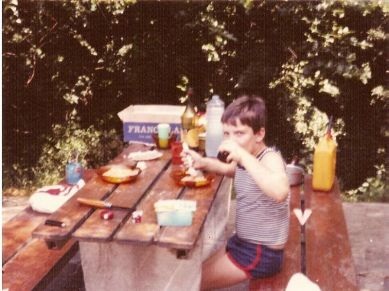 Mes premiers voyages avec mon papa