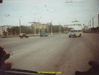 Dans une ville Russe