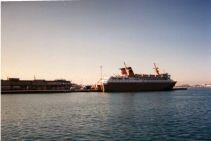 le bateau de remplacement