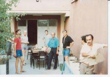 Harold, Daniel Devolder, Jp Azopardi et Jean-Pierre à Kaisery