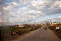 route en direction de Tirana
