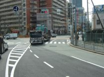 bel ensemble dans le centre ville d'OSAKA