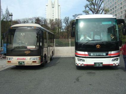 voici la série des bus, remarquez toujours la qualité et la propreté des materiels