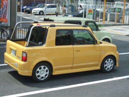 mini pick-up dont j'ignore la marque