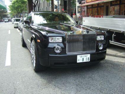 Rolls Royce ayant passé au tuning