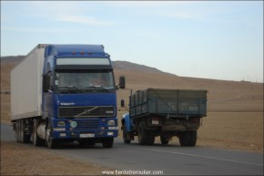 Volvo Russe, Mongolie