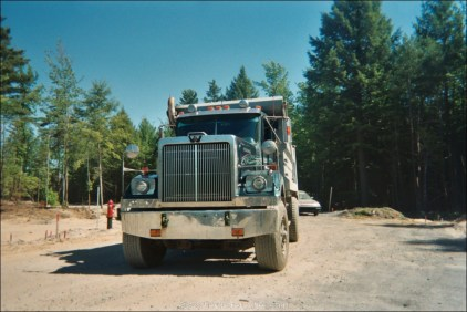 Le camion benne Western Star
