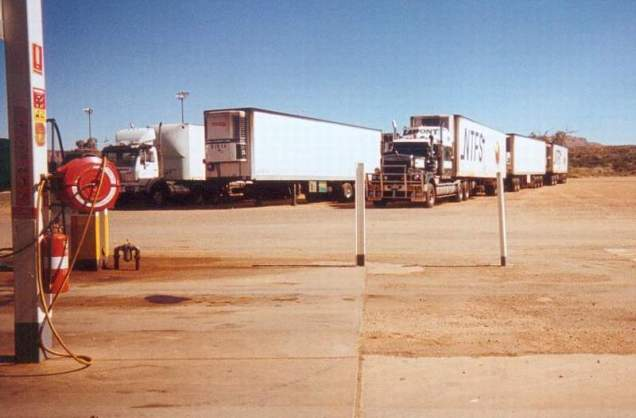 BP Truckstop Alice Springs