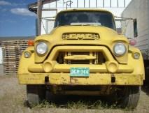 GMC 500, le visage