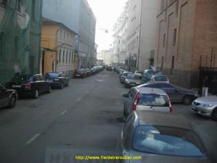 la rue du lycee francais de Moscou