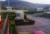 mon tracteur devant chez moi