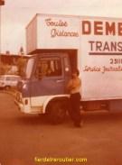 c'est mon tout 1er camion...quand je faisais les demenagements..il faut bien debuter
