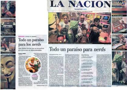 Nota por el lanzamiento de Hiperconectados en Telefe. Conducido por Fierita