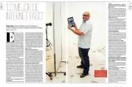 Entrevista en la revista Viva cuya número tiene a Fierita en tapa.