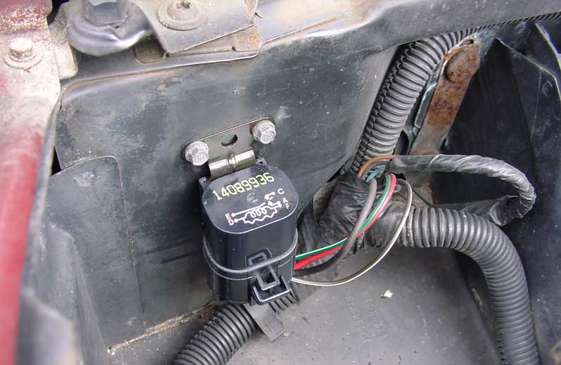 1985 Pontiac Fiero Fuse Box Diagram Fan Relay Upgrade