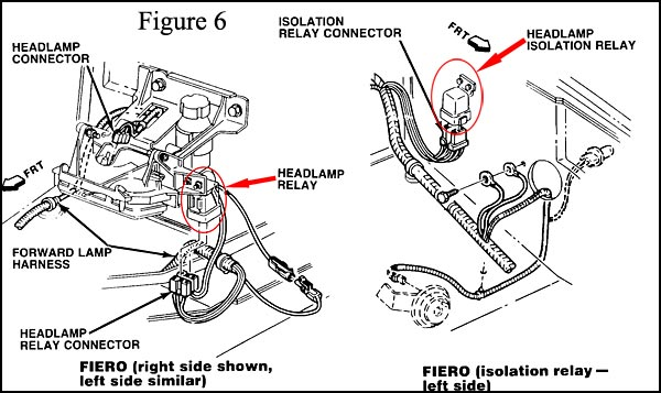 automotive electric fan relay wiring diagram e36 alternator the fiero store