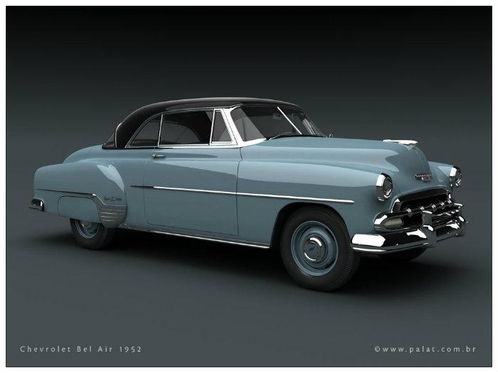 Chevrolet Bel Air 1950 1952 Primera Serie Fierros Clasicos