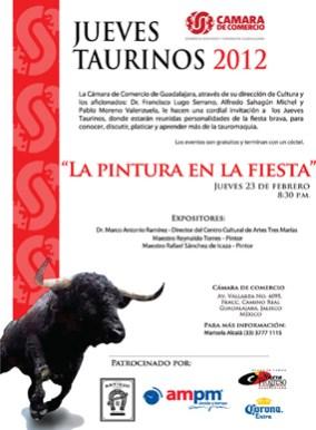 Jueves Taurinos 2012