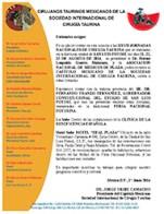 Invitación (XXVII JORNADAS NACIONALES DE CIRUGÍA TAURINA)
