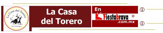 LA CASA DEL TORERO