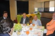Eduardo Heftye, Luis y Humberto Ruiz Quiroz, Carlos Lorenzo Hinzpeter. y de espaldas Mario Urosa