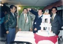 """En el 8° Aniversario del Programa """"Fiesta Brava""""® (2a Etapa), Alfredo Flórez, Pepe Soto, Enrique Hernández Flores y Enrique Hernández Vázquez"""