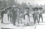 """En """"La Tapatía"""", Juan Mendoza """"El Tariácuri"""" con el Mariachi Vargas de Tecalitlán, cantando en vivo en la X.E.F.R."""