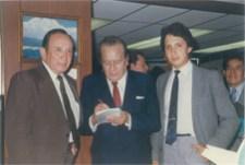 Con el Maestro Pepe Alameda y Enrique Hernández Vázquez