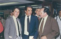 Con Enrique Hernández Vázquez, y el Matador Acapulqueño Antonio Lomelín