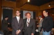 Arturo Macías, Enrique Hernández Flores y Héctor Hernández Vázquez