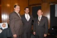 Pepe Soto, Arturo Macías, y Enrique Hernández Flores
