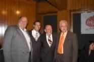 Ing. Francisco Fernández, Arturo Macías, Enrique Hernández Flores y Henry Stone