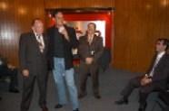 Enrique Hernández Flores, Héctor Hernández Vázquez, Pepe Soto y Arturo Macías