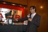 """Matador Arturo Macías con su """"Trofeo Fiesta Brava"""" 2007"""