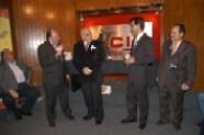 Enrique Hernández Flores, Maestro Raymundo Cobo, Arturo Macías y Pepe Soto