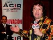 Enrique Hernández Vázquez y el Poeta Elías Ruvalcaba