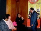 Sergio Bernardi, Claudia López, Rubén Reyes y Enrique Hernández Flores
