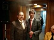 Pepe Soto y Lic. Francisco Ibarra Fariña (Vicepresidente de Grupo ACIR)