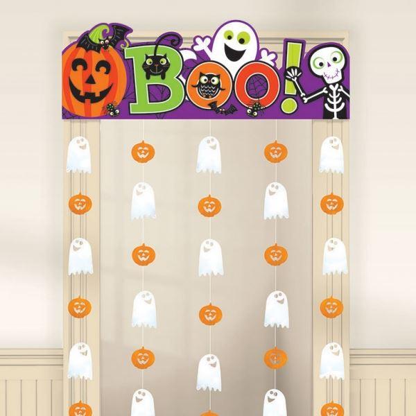 Cortina Halloween infantil por slo 820  Tienda Online Envo en 24h Fiestafacilcom Fiestafacilcom  Artculos de decoracin para