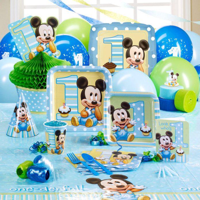 Fiesta Baby Disney Con Ideas Realmente Originales Para Decorar