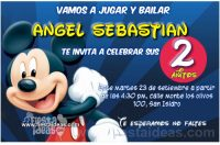 Invitaciones de Mickey Mouse Clubhouse para imprimir