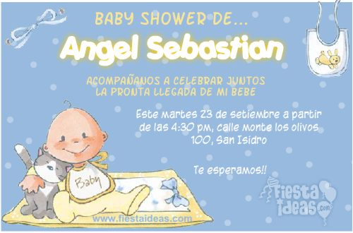 2c9f6f9cbdf12 ▷ 20 Invitaciones para Baby Shower  edita e Imprime GRATIS  2018