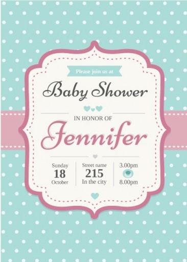 Crea Invitaciones Para Baby Shower Edita E Imprime Gratis 2017