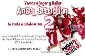 invitacion_High school_musical