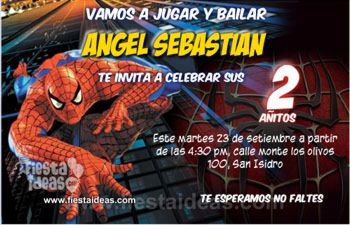 invitaciones de spiderman para editar invitacion_cumpleaos_sorprendente_hombre_araa_2