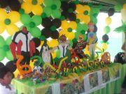 Ben 10 ideas de decoracion de fiesta de cumpleaños