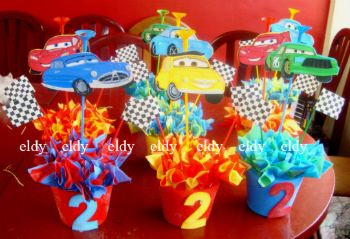 Ideas De Decoracion Fiesta Cars Rayo Mcqueen
