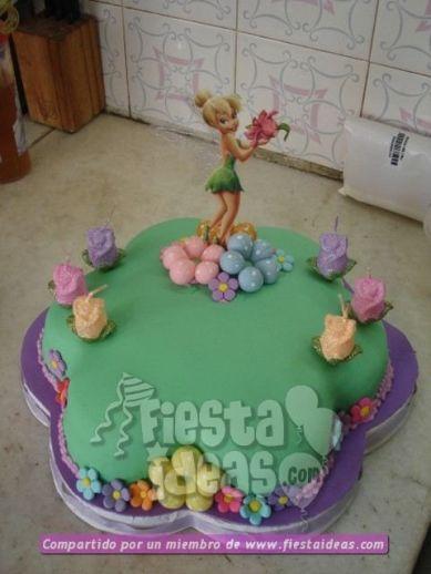 20 ideas para decoracion de tortas de Campanita - tinkerbell-001_min